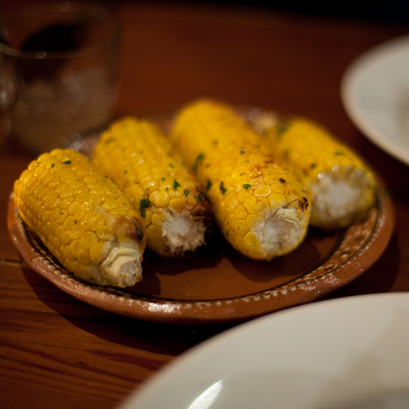 Roasted Corn On The Cob - Camino, Oakland, CA