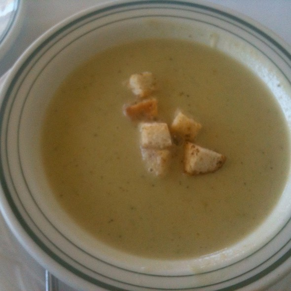 Cream of Asparagus Soup @ Meson European Dining