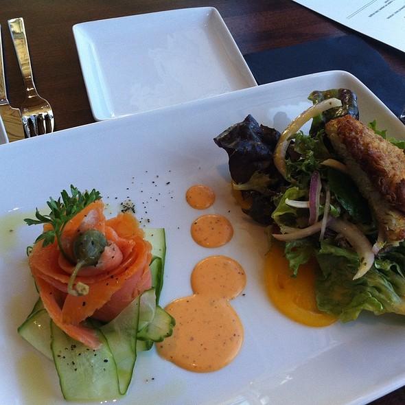 Smoked Salmon Salad @ 50 Ocean