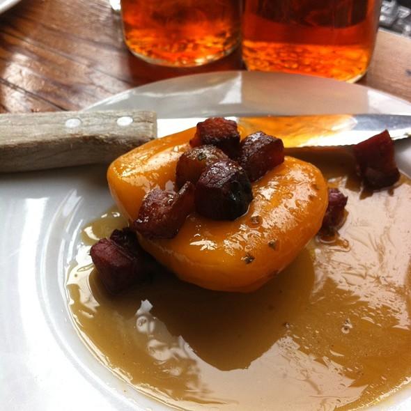 Roasted Apple With Bacon Lardons & Cheddar @ Tasty n Sons