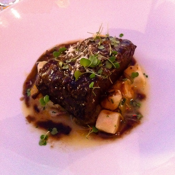 Red Wine Braised Beef Short Ribs @ Spago (Caesars Palace)