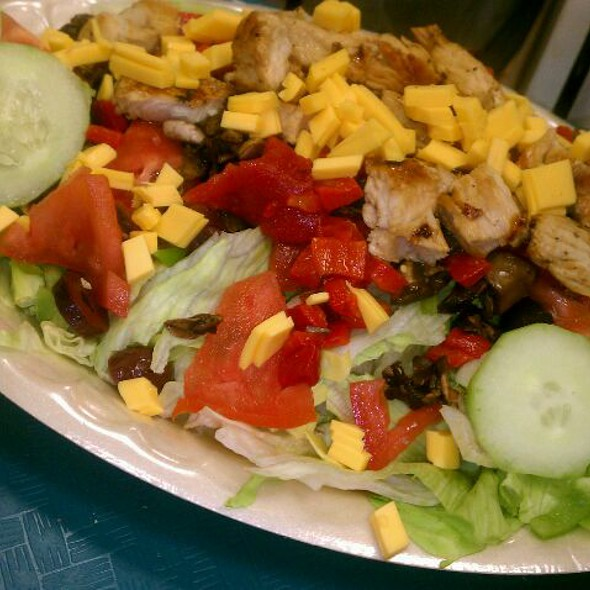 Marinated Grilled Chicken Salad @ Scratch Fresh