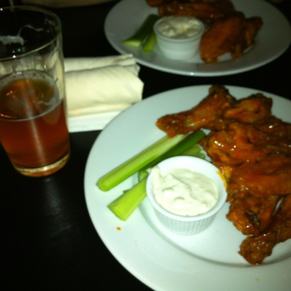 Delisious Wings And Beer.  @ Station Taproom