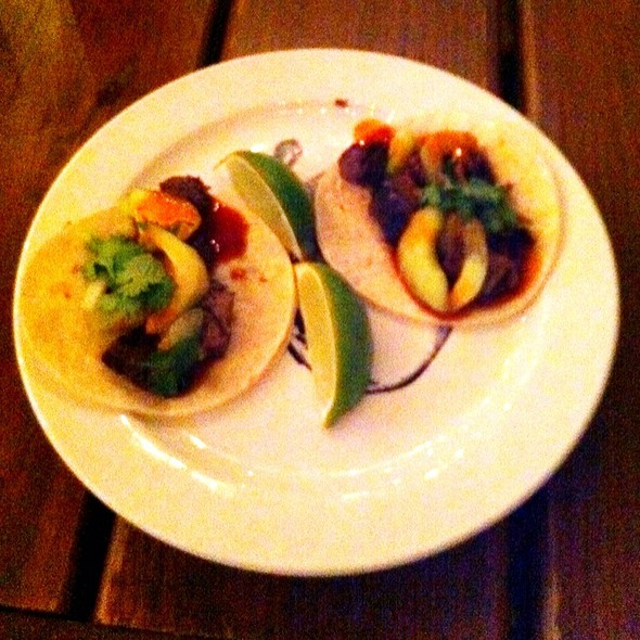 Korean Beef Short Rib Tacos @ Tavern