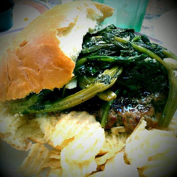 Italian Burger @ Cafe Alessio