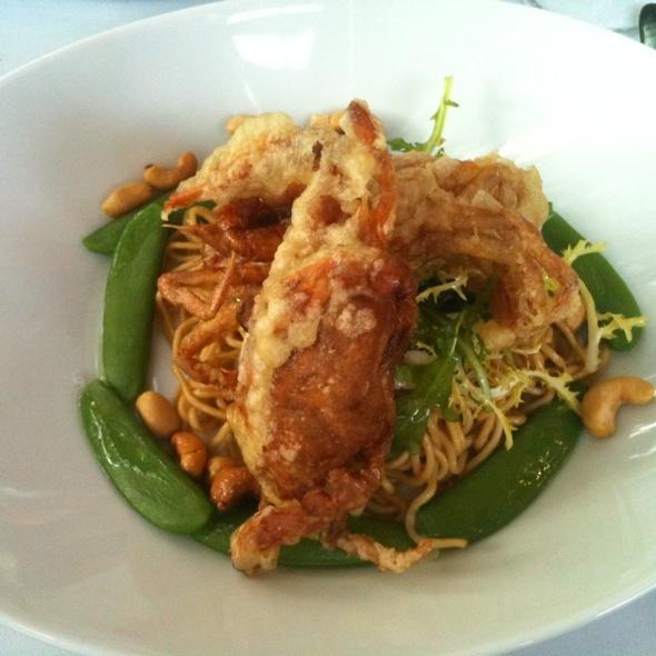 Soft Shell Crab Salad @ Restaurant The Colour Kitchen Amsterdam