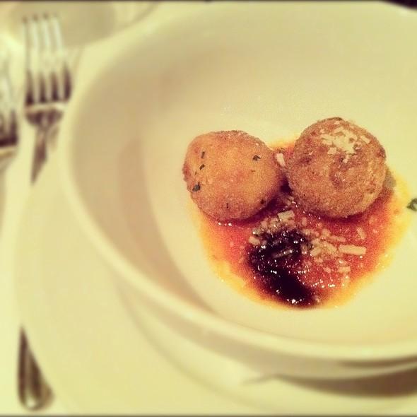 Risotto Balls @ Joe's Restaurant