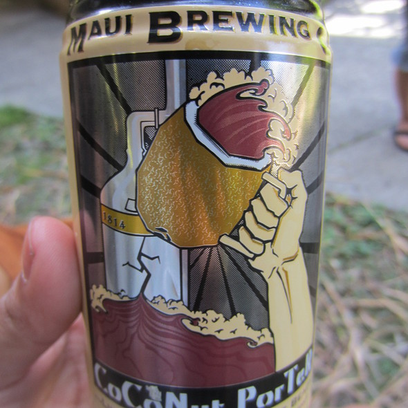 Maui Brewing Coconut Porter @ University of Hawaii at Manoa