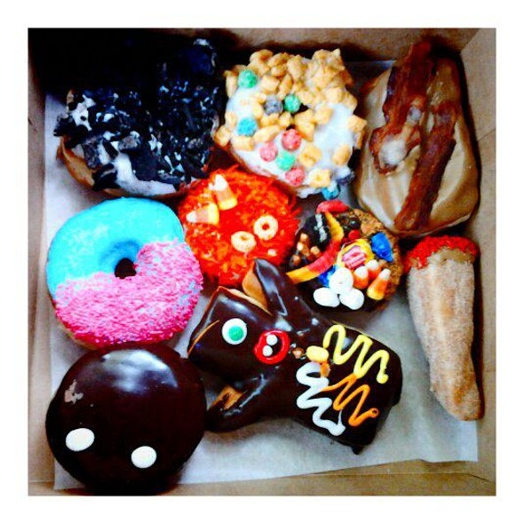 Assorted Doughnuts @ Voodoo Doughnut Too
