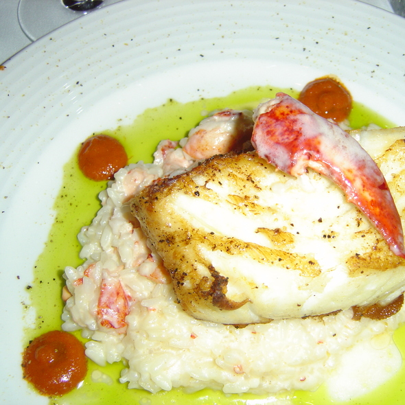 Sea Bass with Lobster Risotto - Kirby's Prime Steakhouse - San Antonio, San Antonio, TX