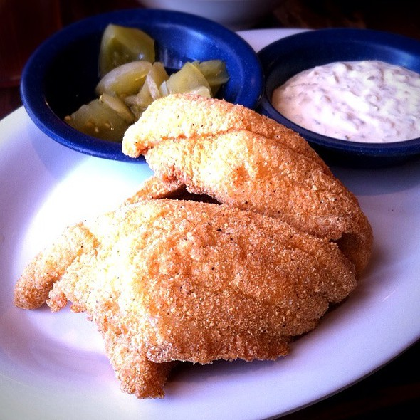 Fried Catfish @ Babe's Chicken Dinner House