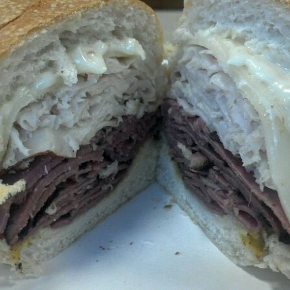 8 Inch Pastrami, Turkey & Provilone Cheese Sub