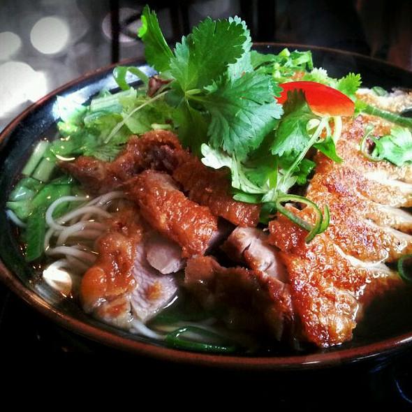 Crispy Duck Noodle Soup @ NOI* Sushi Restaurant