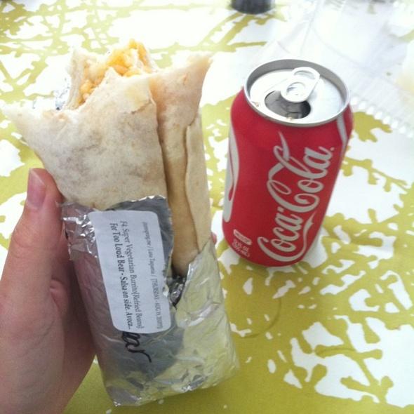 Super Vegetarian Burrito @ Luna Taqueria