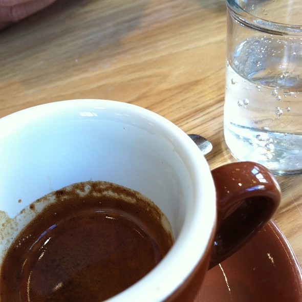 Espresso @ Blue Bottle Coffee