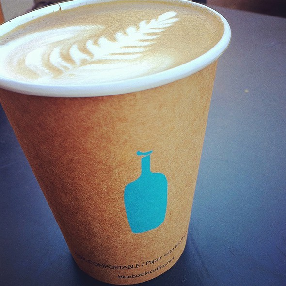 Latte @ Blue Bottle Coffee