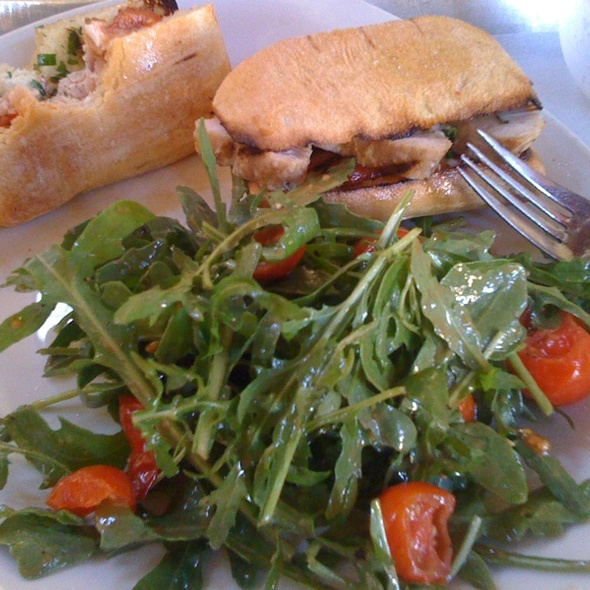 Grilled Albacore Tuna Sandwich @ Tender Greens