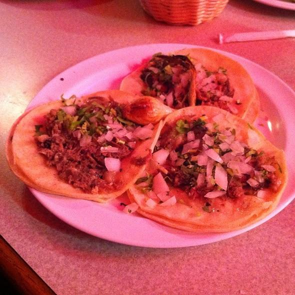 Tacos de Ojo @ Los Taquitos de Puebla Restaurant