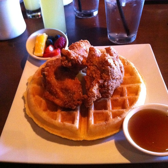 Fried Chicken and Waffles @ Soul Gastrolounge