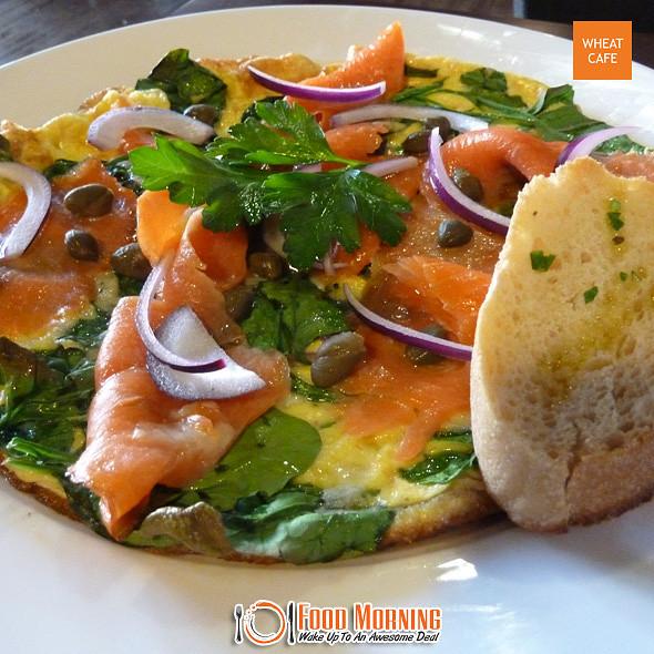 Eggs Florentine @ Wheat Cafe