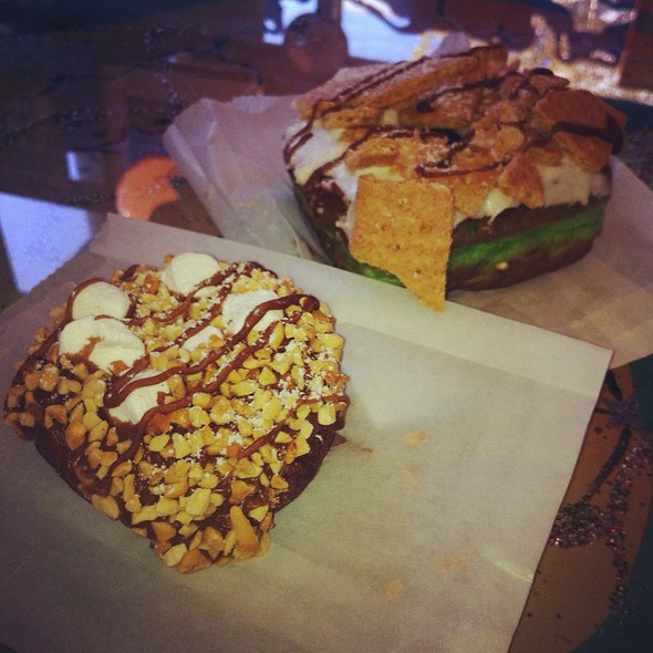 Rocky Road & S'more @ Psycho Donuts