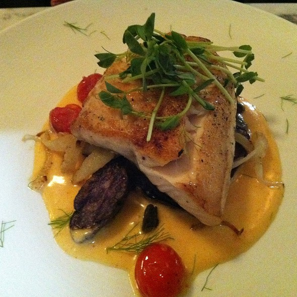 Pickerel With Sauce Cheron @ The Tremont Cafe