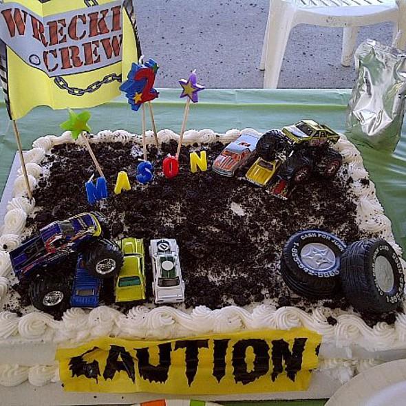 Birthday cake @ (a)(u)(d)'(s)