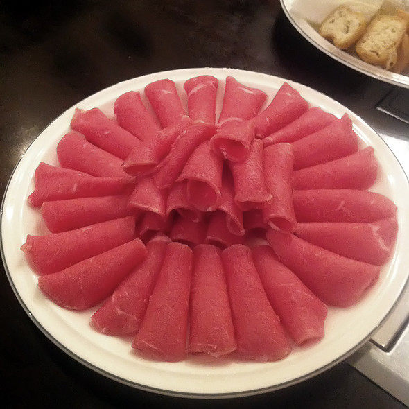 Beef shabu shabu