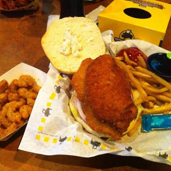 Fish Sammich @ Buffalo Wild Wings Grill & Bar
