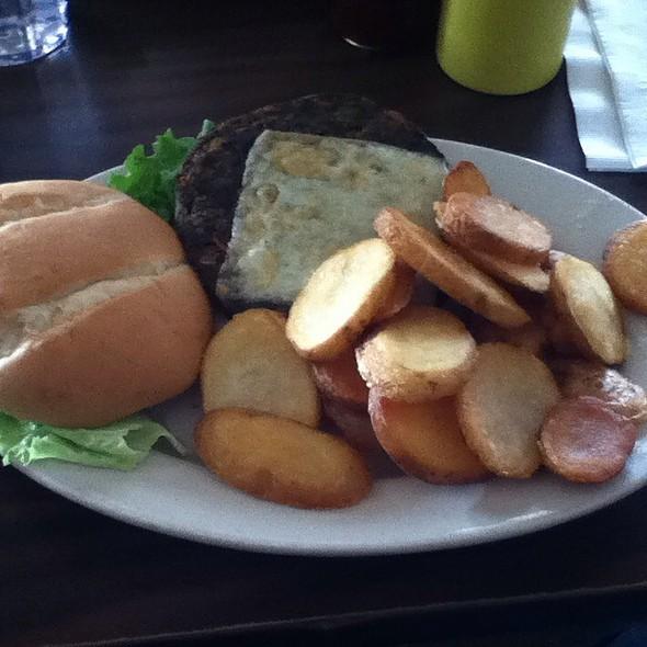 Mushroom Veggie Burger @ Broad Ripple  Brewpub