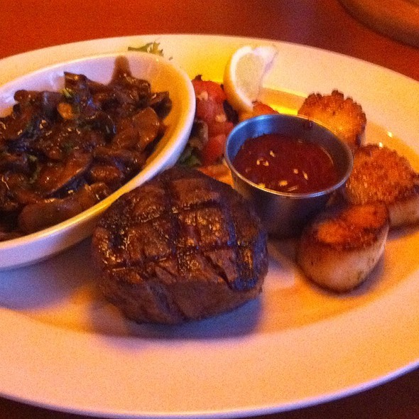 Filet Mignon And Scallops - George Martin's Grillfire, Hanover, MD