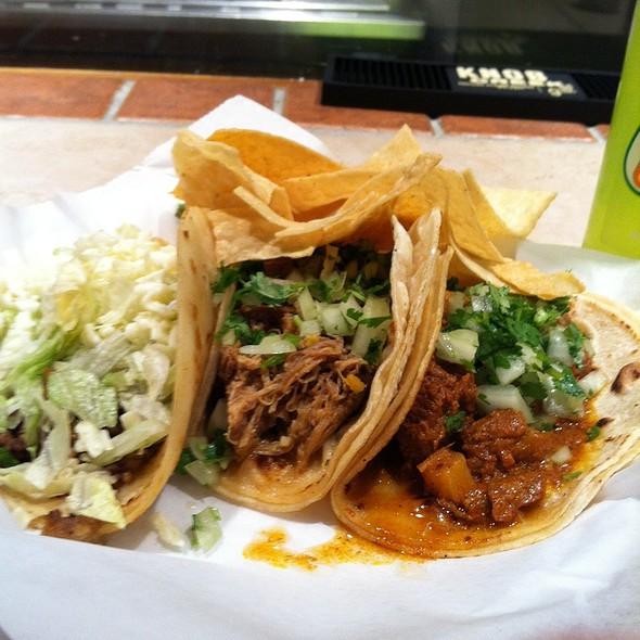 Tacos! @ Chubby's Tacos