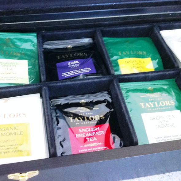 Tea Selections - Catch Bar & Grill - Marriott - Biscayne Bay - Miami, Miami, FL
