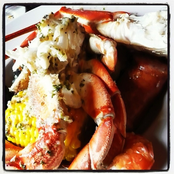 Whole Plate Of Crab House @ Charleston Crab House
