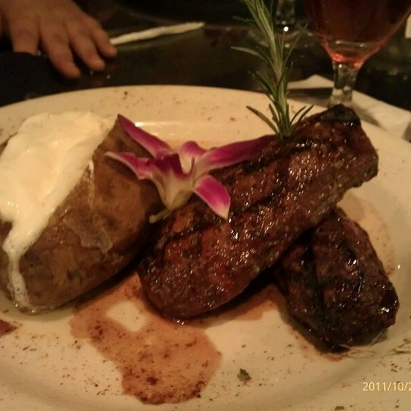Tenderloin Filet @ Steak Street Restaurant