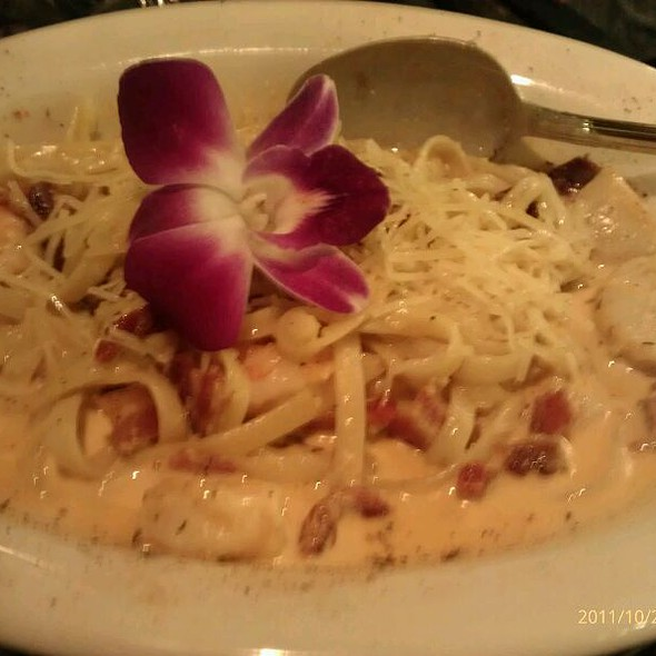 Cajun Seafood Carbonara @ Steak Street Restaurant