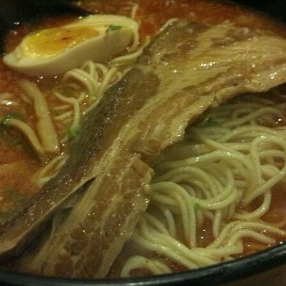Kakuni Tonkotsu Spicy Ramen @ Ramen Yamadaya