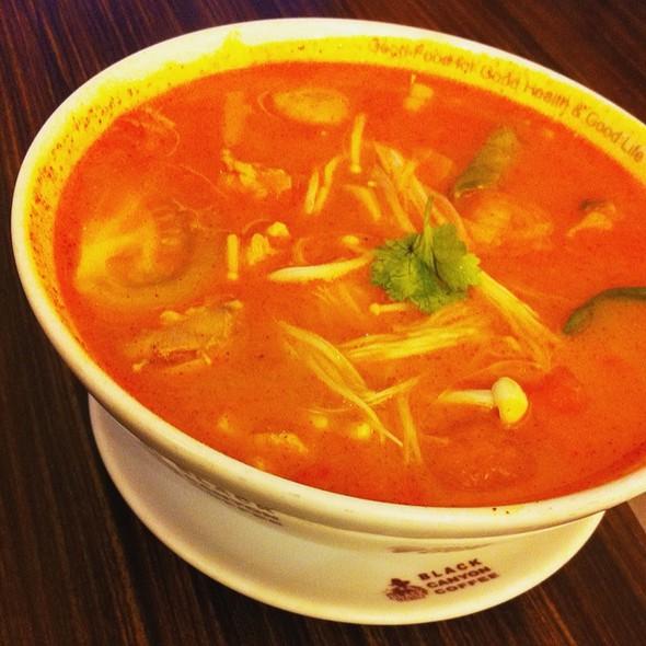 Tom Yam Chicken Soup