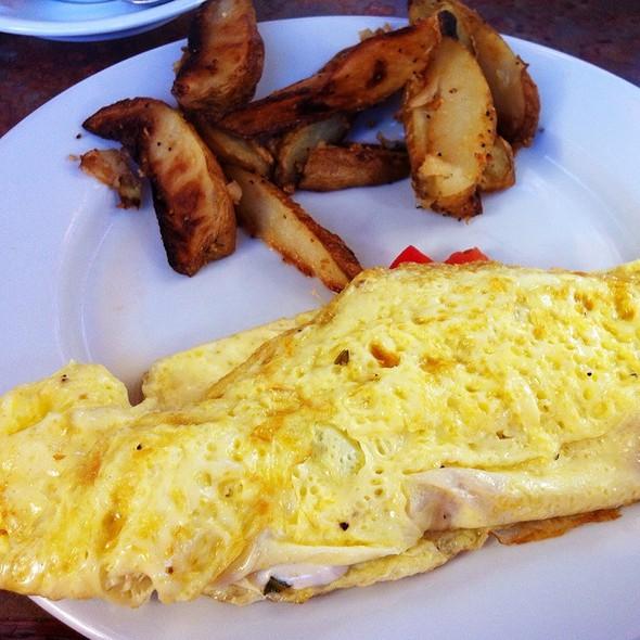 tuscan omelette @ World Peace Cafe Atlanta