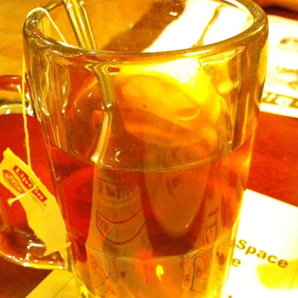 Lemon Tea @ Sunday Bistro