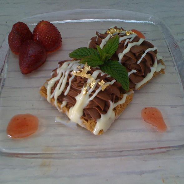 belgian chocolate dessert @ Astarte Suites