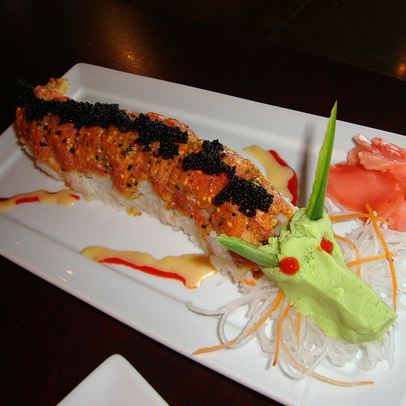 Blue fish house ii sushi grill menu sugar land tx for Blue fish sushi menu