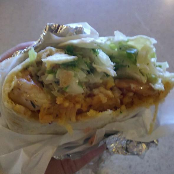 Shrimp Burrito With Jalapeno & Onion  @ Taco Factory
