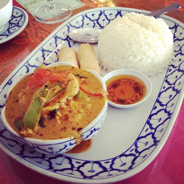 Panang Curry Chicken @ Dusita Thai Cuisine