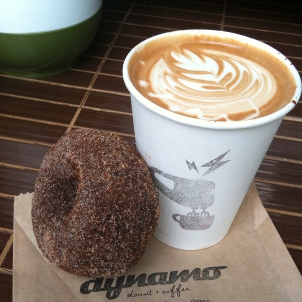 Spiced Chocolate Doughnut @ Dynamo Donut & Coffee