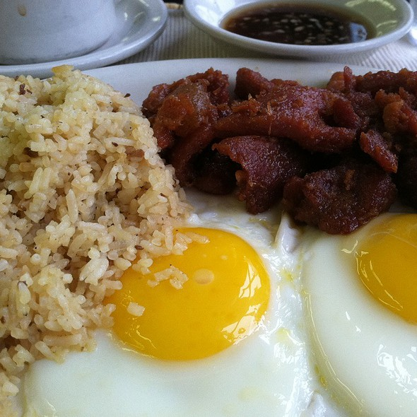 Tosilog @ Fairfax Inn Restaurant