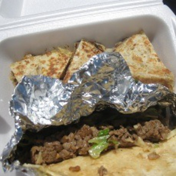 Korean Bbq Tacos And Quesadillas @ The Rolling Hunger