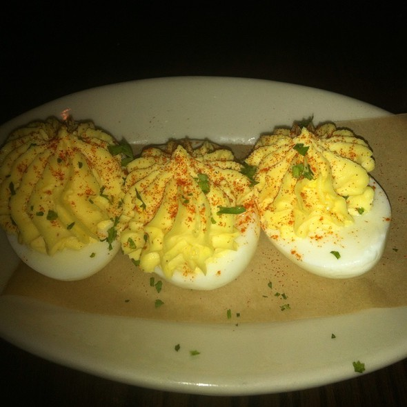 Deviled Eggs @ DMK Burger Bar