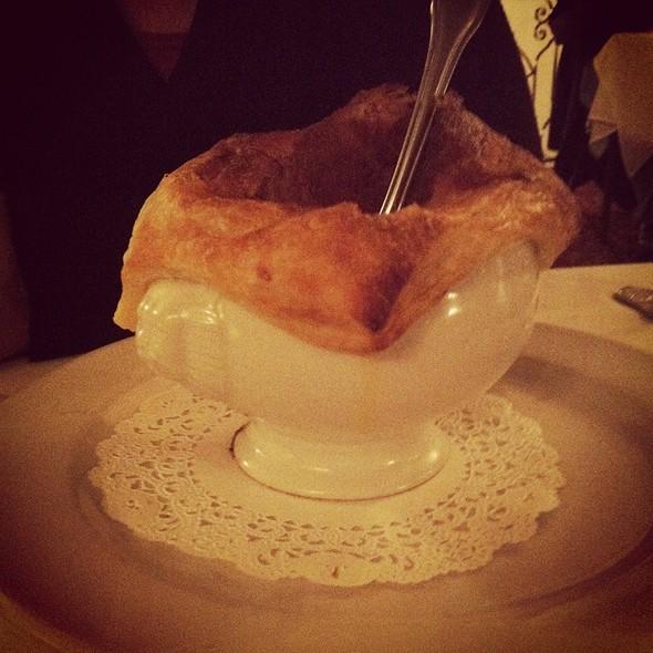 Mussel bisque - Dobson's Bar & Restaurant, San Diego, CA