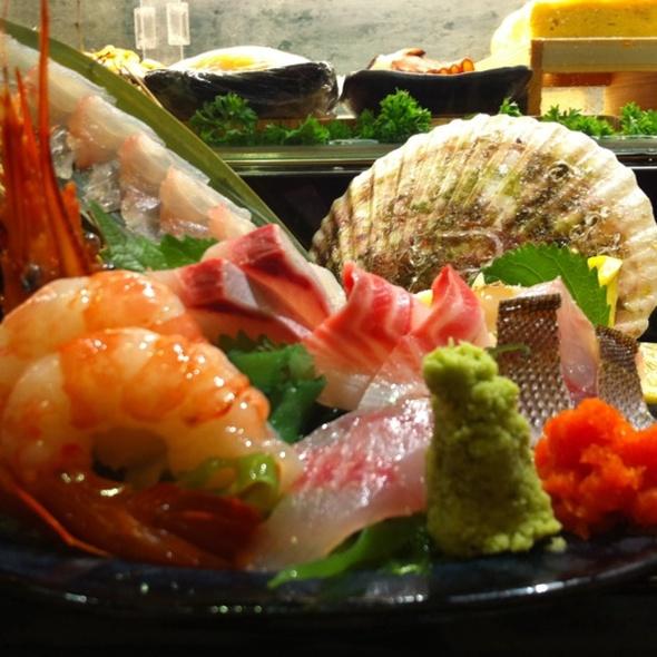 Sashimi Platter @ Akita